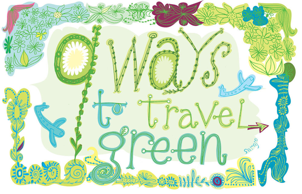 9 ways to travel green
