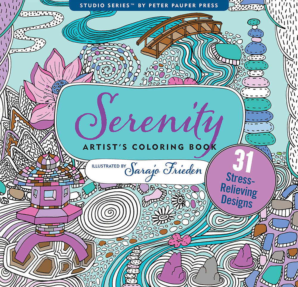 Copy of Serenity coloring book