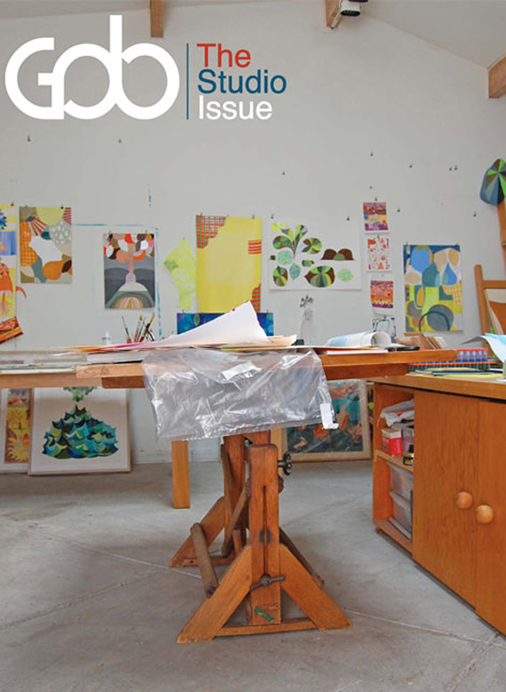 Cover of GOB magazine
