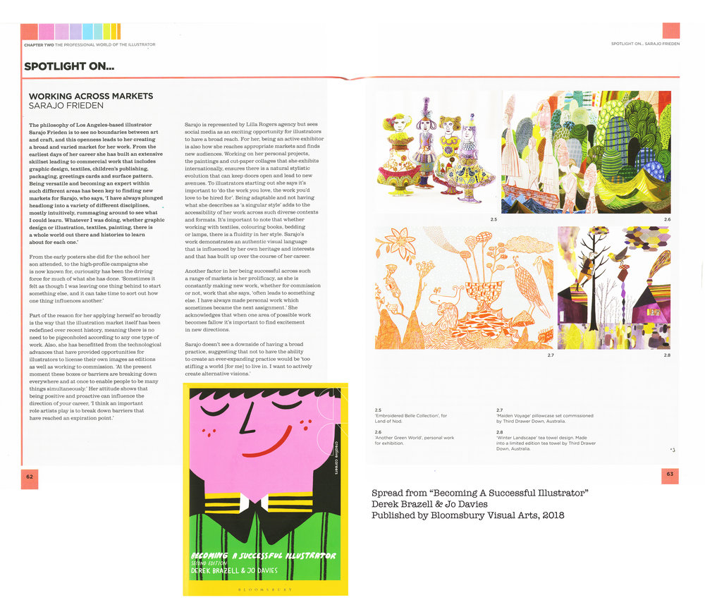 Featured in 'Becoming A Successful Illustrator'