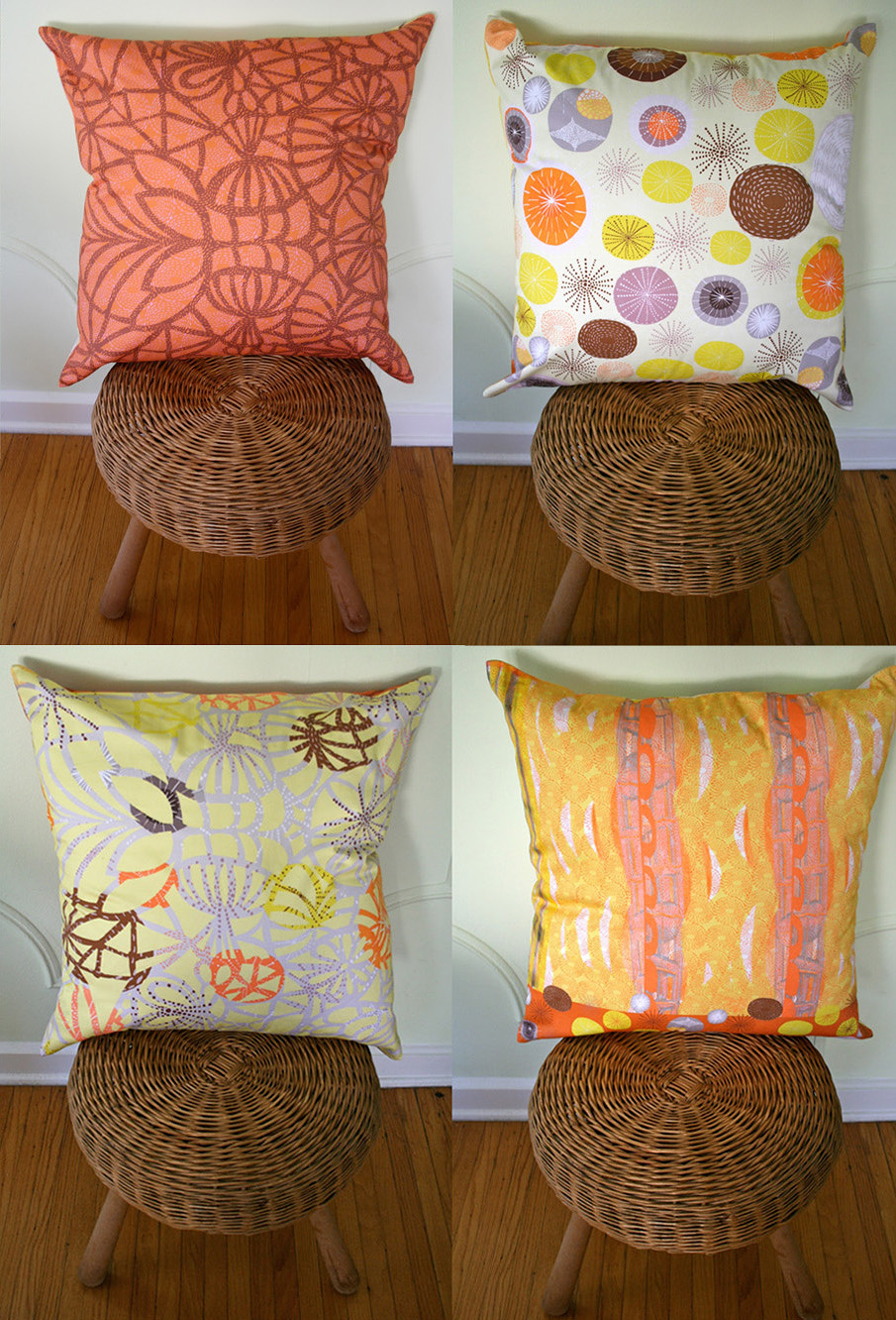 Custom Fabric Pillows