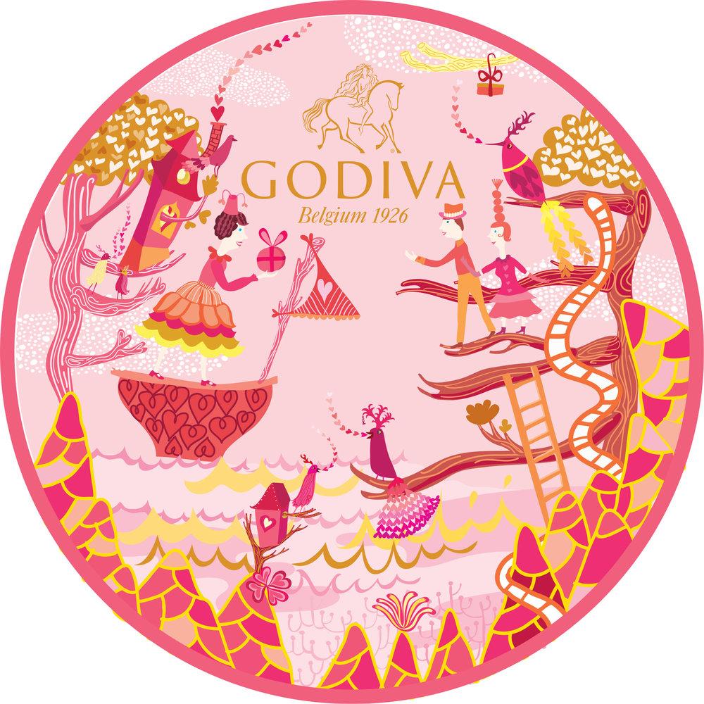 Copy of Godiva Valentine's Day packaging