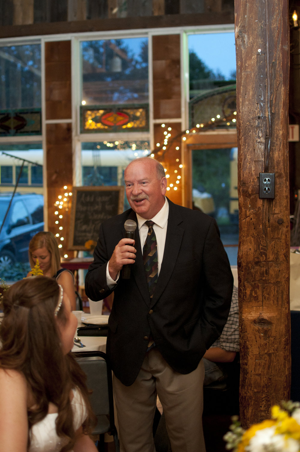 Wedding speech from father of the bride