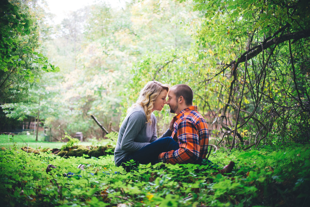 engagement photo in forest with soft light-2.jpg