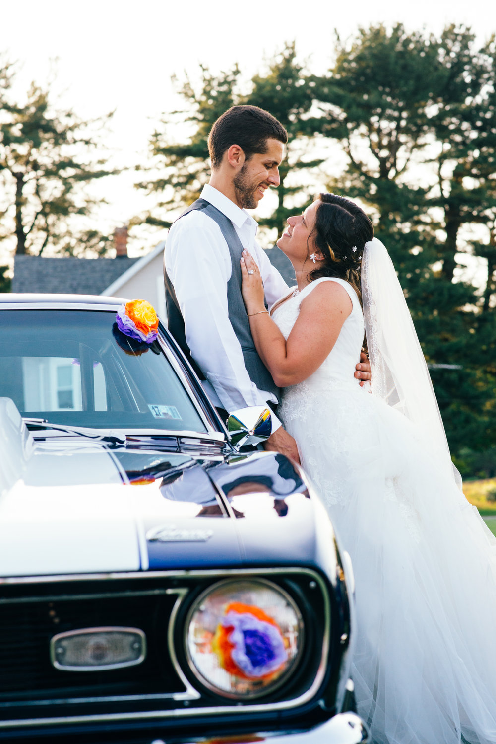 MOST PUBLISHED WEDDING - Dan + Danielle | Car Themed Wedding at Farm on the Ridge