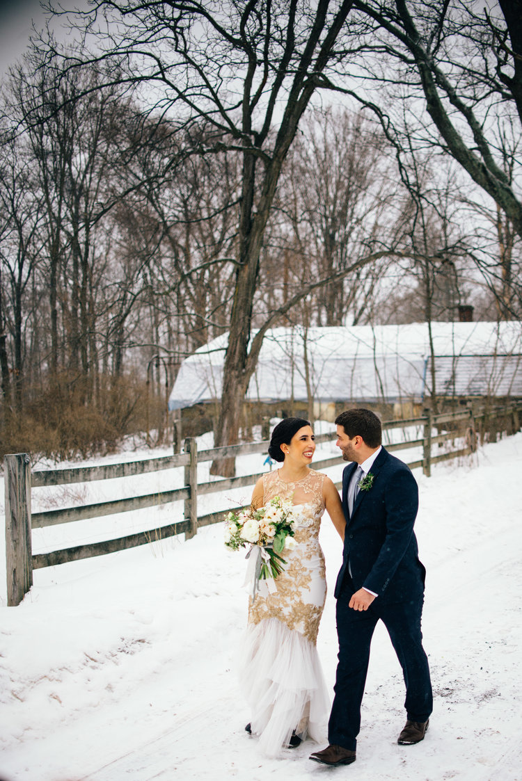 MOST INFLUENTIAL EXPERIENCE OF 2017 - Winter Wedding in the Poconos
