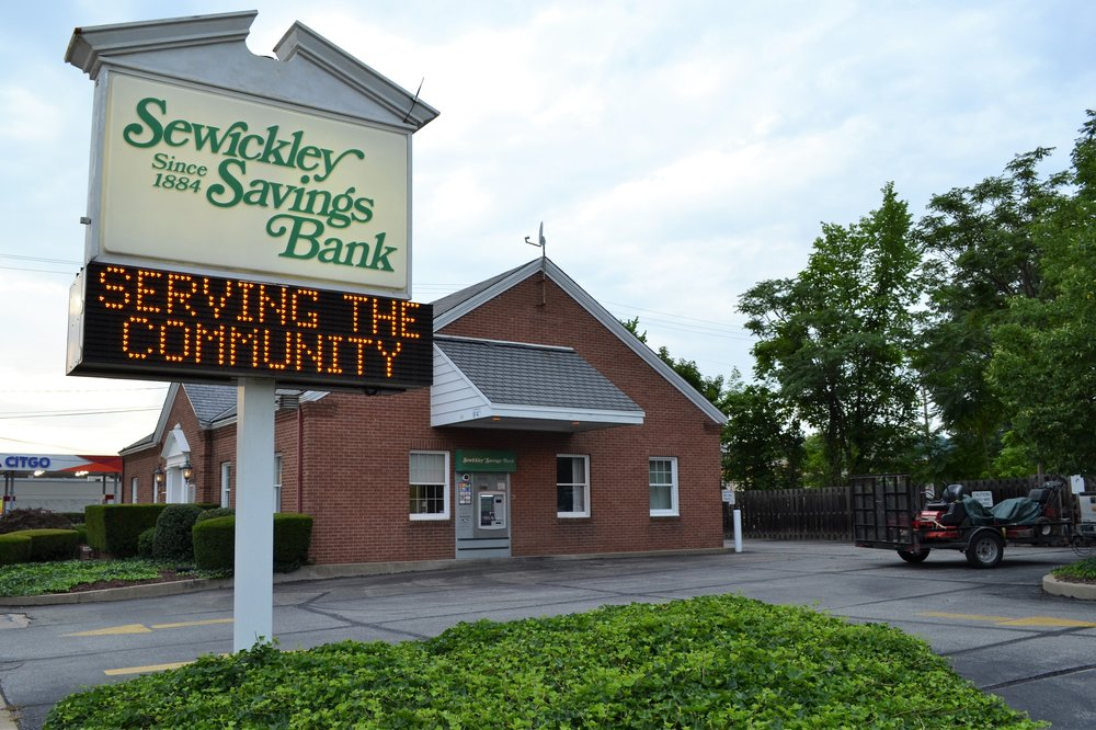Sewickley Savings Bank - 901 4th Ave, (412) 264-4940