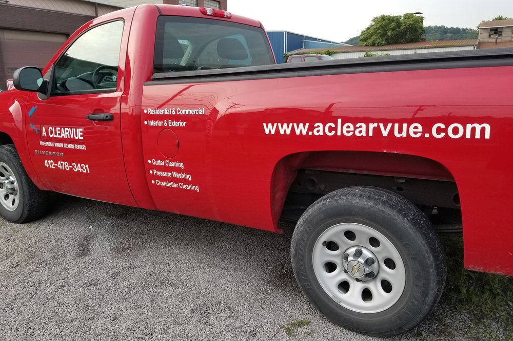A Clearvue Window Cleaning - 853 4th Ave, (412) 478-3431