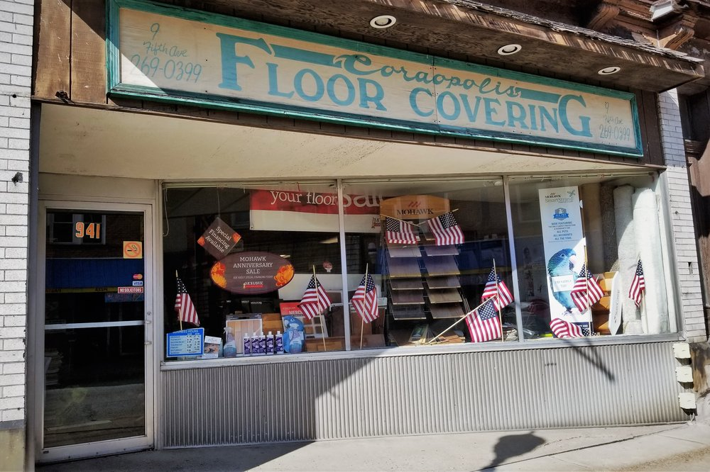 Coraopolis Floor Covering - 941 5th Ave, (412) 269-0399