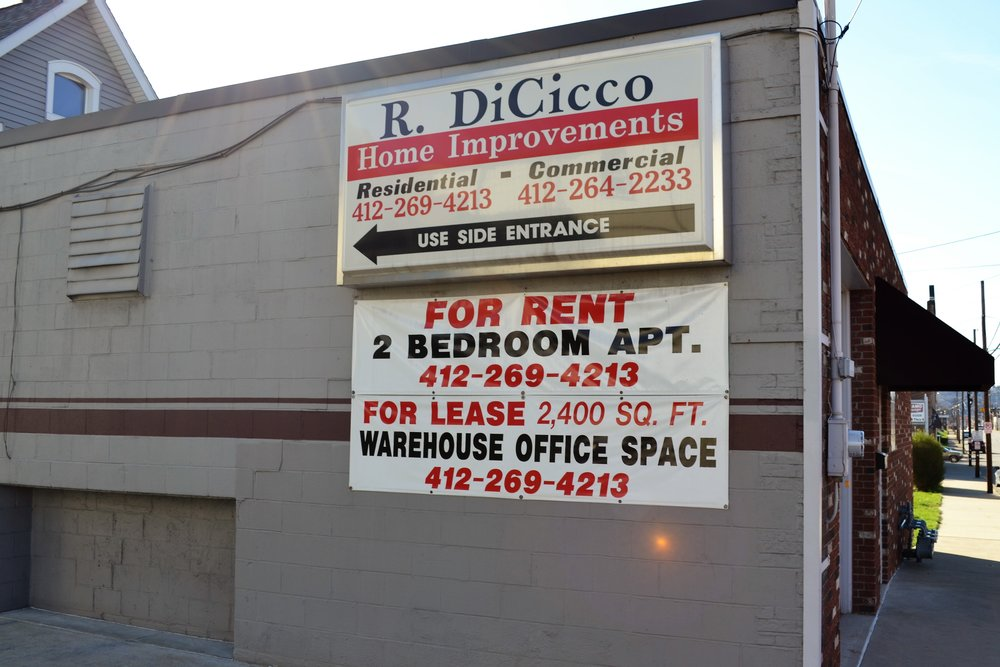 R. DiCicco Home Improvements - 1420 4th Ave, (412) 264-2233