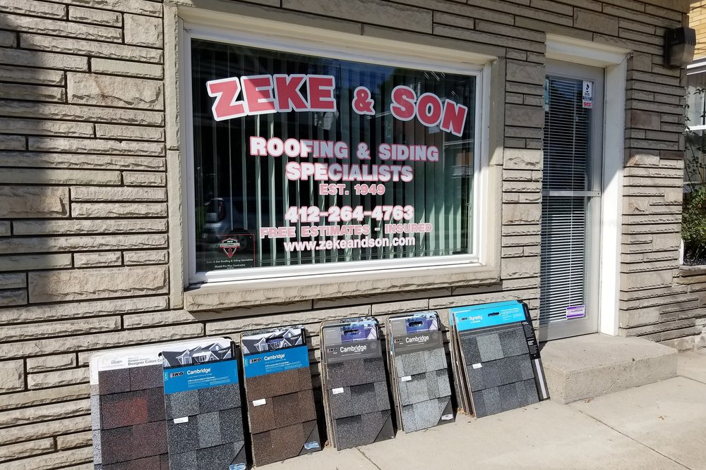 Zeke & Son Roofing & Siding Specialists - 865 5th Ave, (412) 264-4763