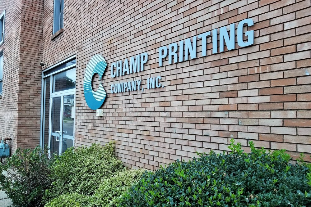 Champ Printing Company - 730 4th Ave, (412) 269-0197