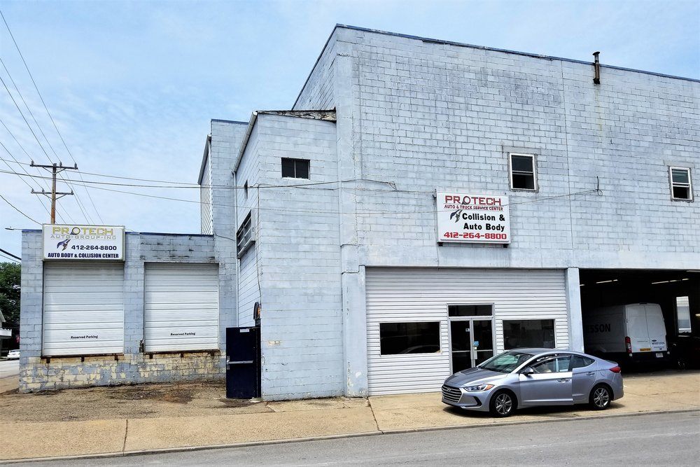 ProTech Collision & Auto Body - 1101 4th Ave, (412) 264-8800