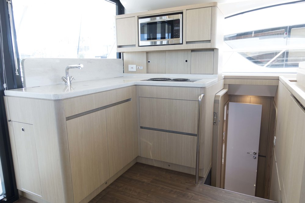 Charter Yacht Galley