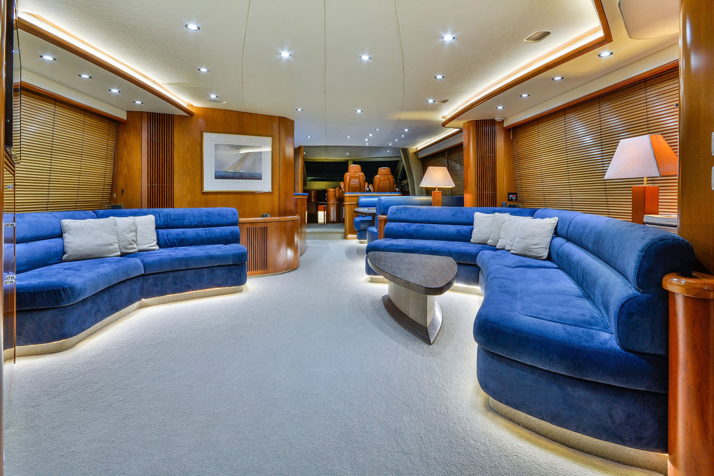 M.V Alani - Saloon, Luxury Yachts Whitsundays