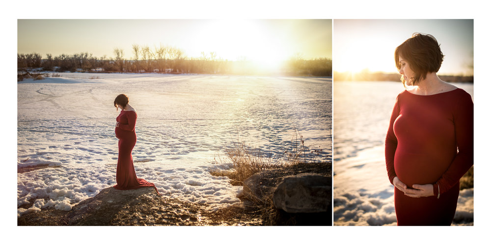 Maternity photos in Great Falls, MT