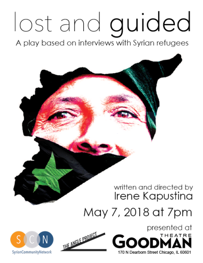 I did a reading all over the state of Maine about Syrian refugees! A very important and timely piece written by Irene Kapustina. Originally presented at The Goodman in Chicago. --JUNE 2018