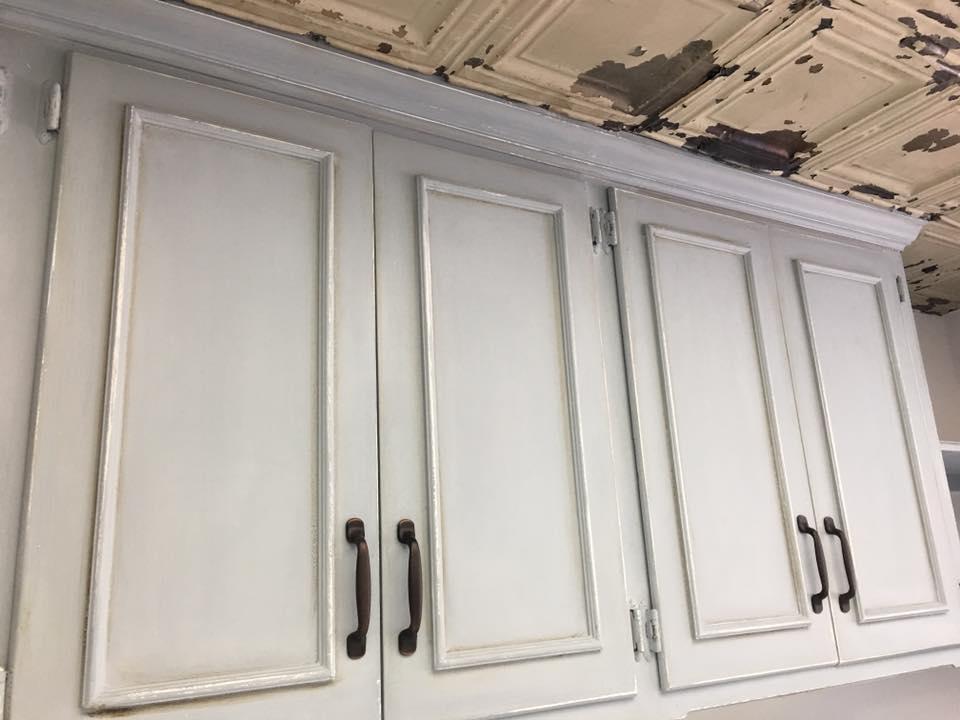 Cabinet Repainting -