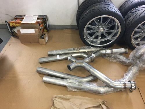 Crossmember and Exhaust — Multi Motorsports