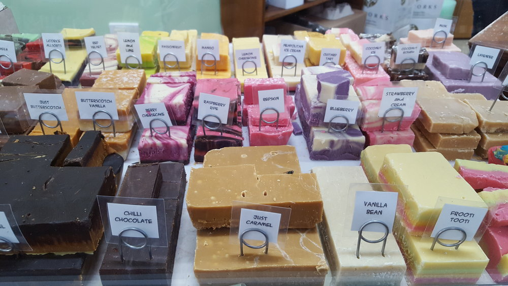 the best fudge in the world  -