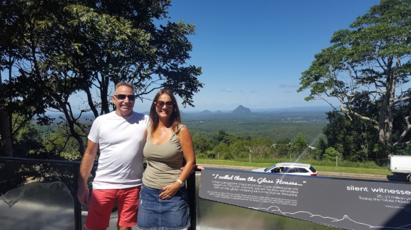 "Lyle has owned  Montville Mountain Inn Resort  for 11 years and Leanne came on board and has been adding her ""expertise"" for nearly three.  Together they run and operate the resort along with their office manager Sue and some great service staff."