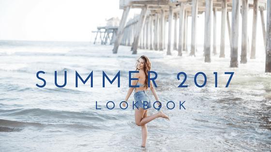 #OhCaptainSarah makes a splash with her #Summer2017 #Lookbook.
