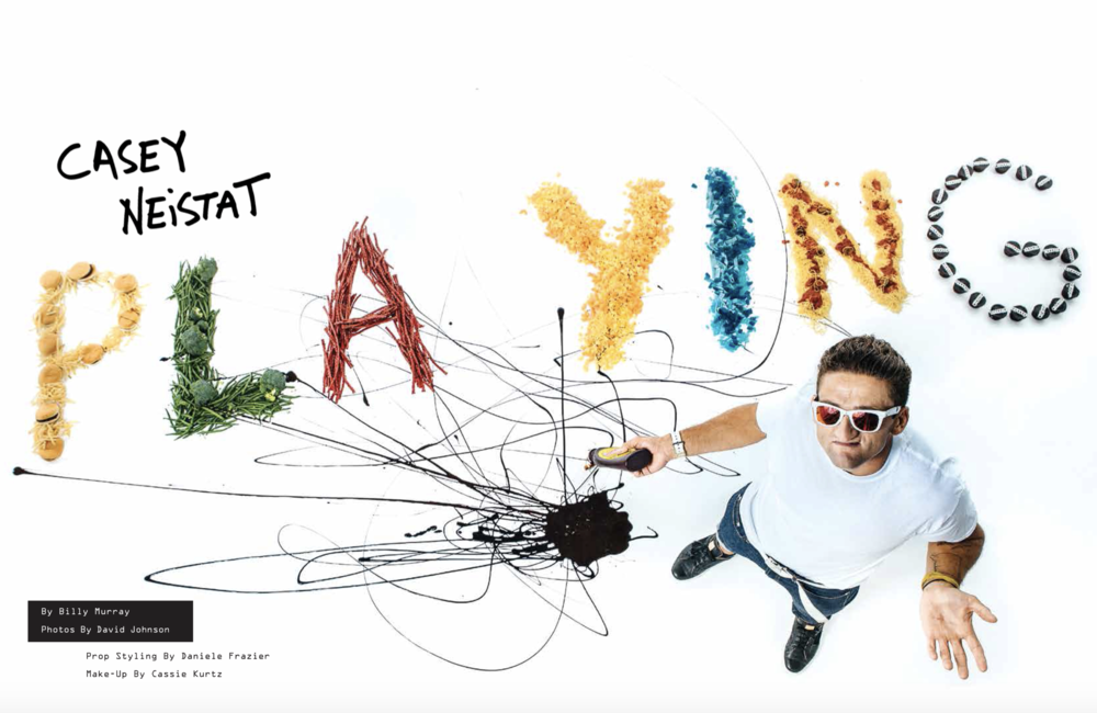 Casey Neistat: Playing With Food (Cover Story)