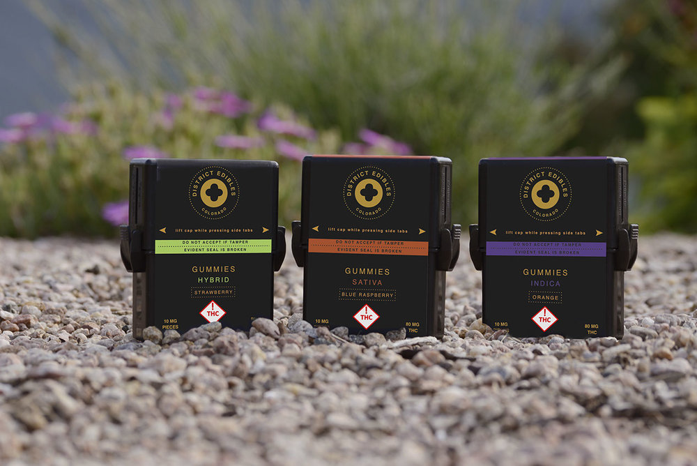 District Edibles - DISTRICT EDIBLES  is a quality, artisan crafted edible line now available in Colorado. All edibles are created in small batches, with Ultra premium CO2 extracted cannabis oil. Consumers will feel the difference in the quality and consistency of our products so you can really redefine your high!