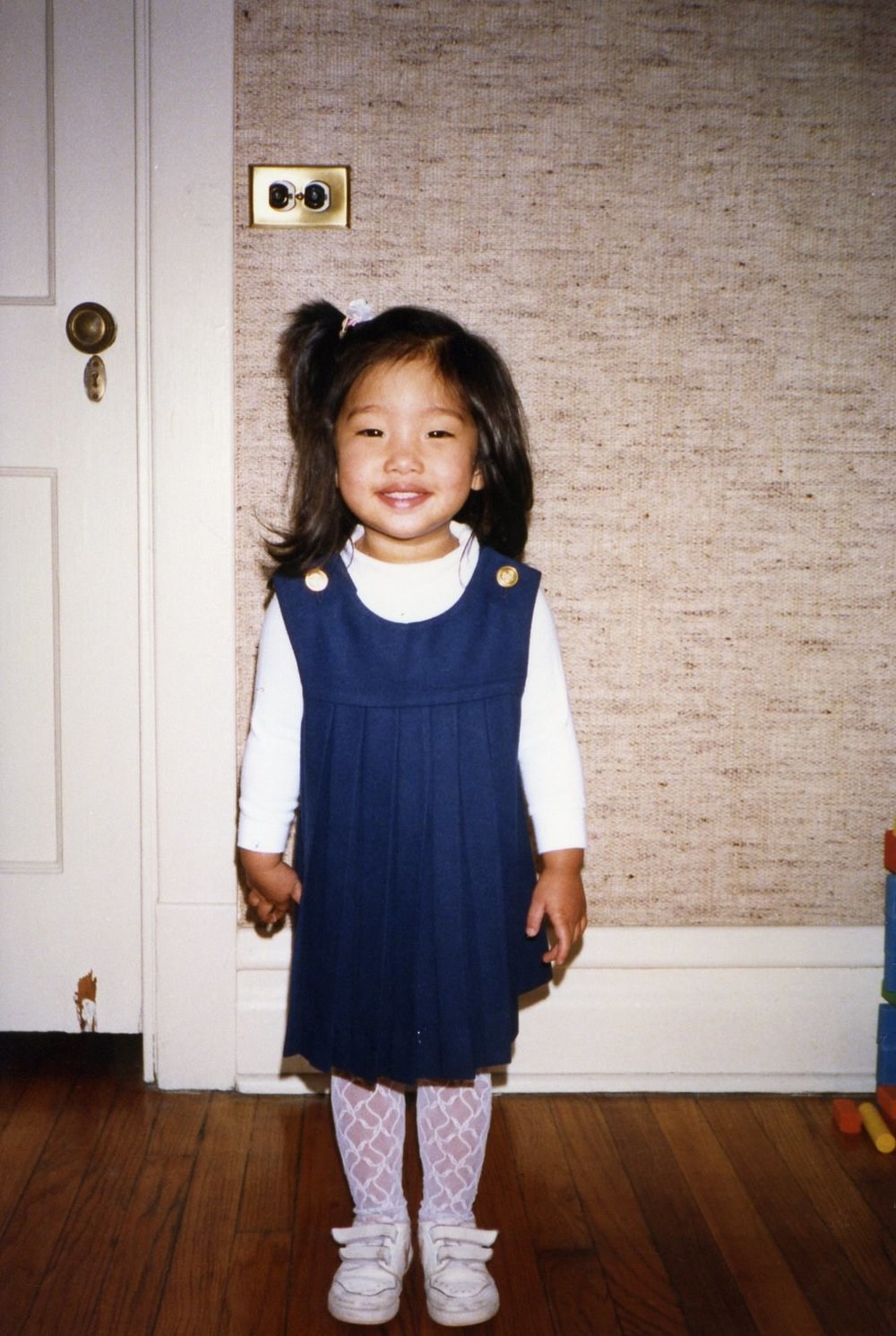 3 year old me