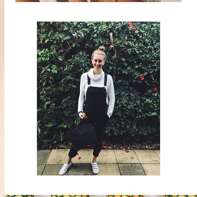 Overall, @consciousjesss is loving our Tote Modern. 😏 #seewhatwedidthere? Big enough for a laptop, small enough for date-night. #ahimsacollective #totebag #sustainablefashion
