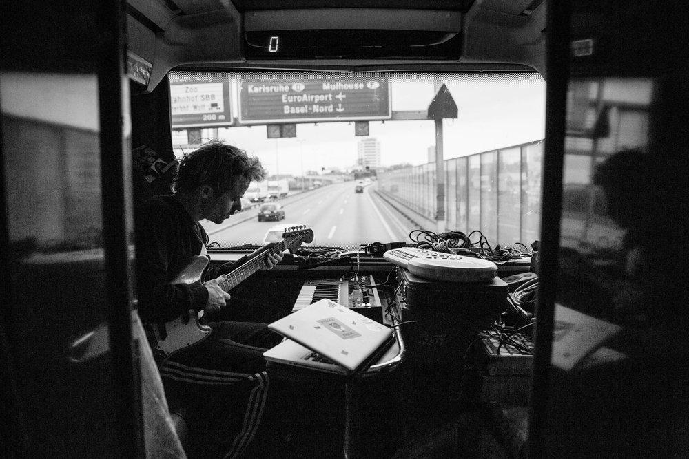 studio on the bus