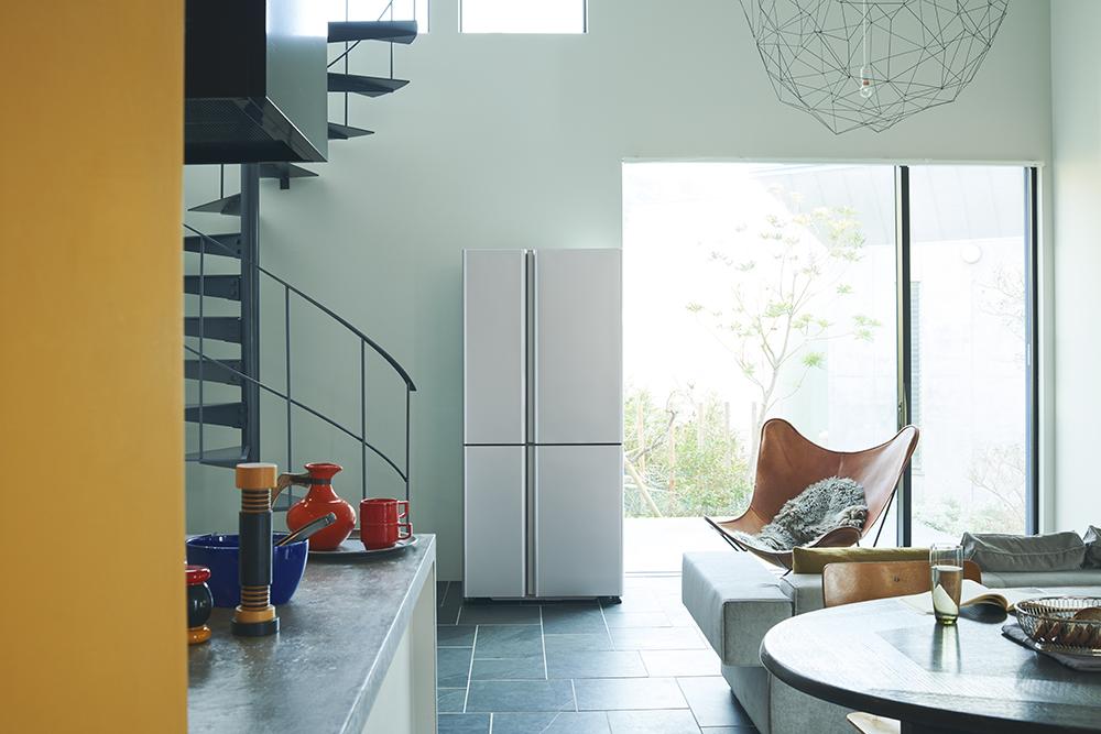 キッチン空間にスッと調和し、インテリアとも親和性の高い「TZシリーズ」。