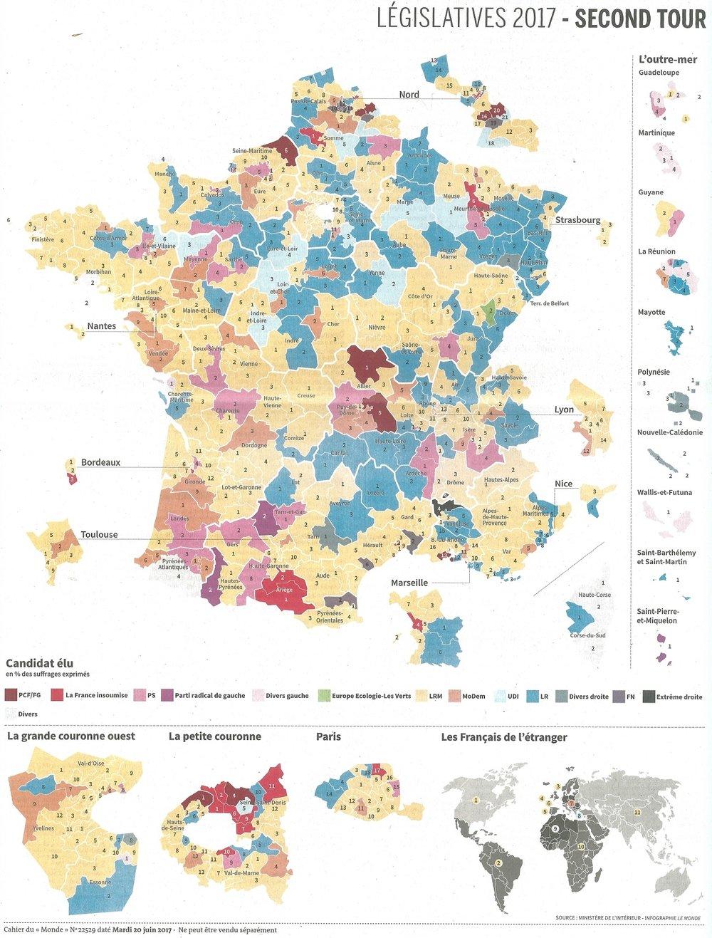 Source:  Le Monde , 20 juin 2017
