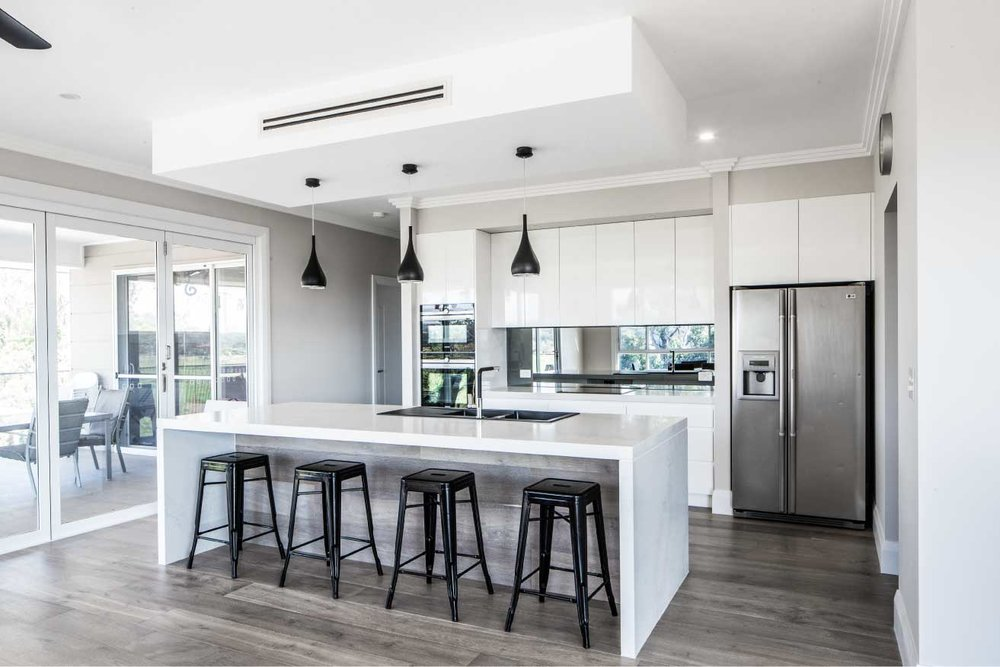 With A Luxurious Modern Aesthetic This New Kitchen Was Designed For Young Family Of Four Moving Into Their Brand Home