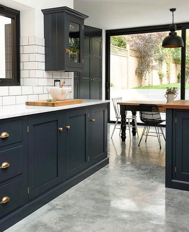 Style inspiration from across the seas... London living by @devolkitchens #stylefiles #dreamkitchen #homerenovation