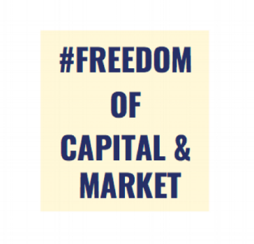 Freedom of capital & market