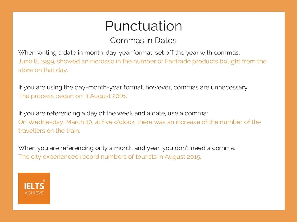 English grammar punctuation