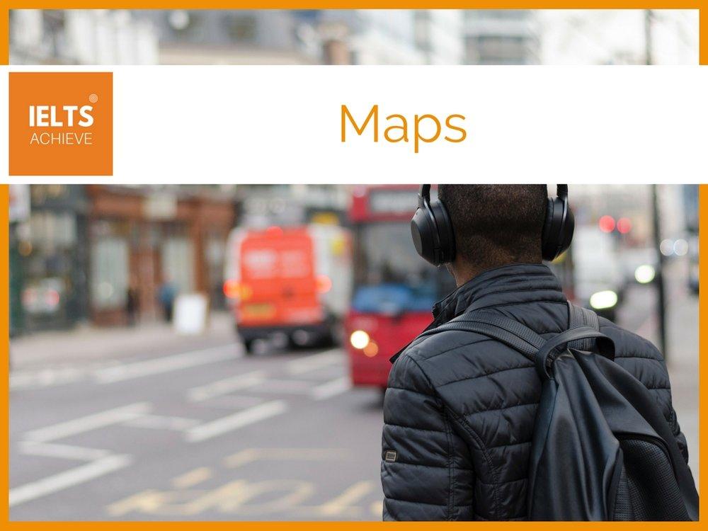 IELTS listening maps