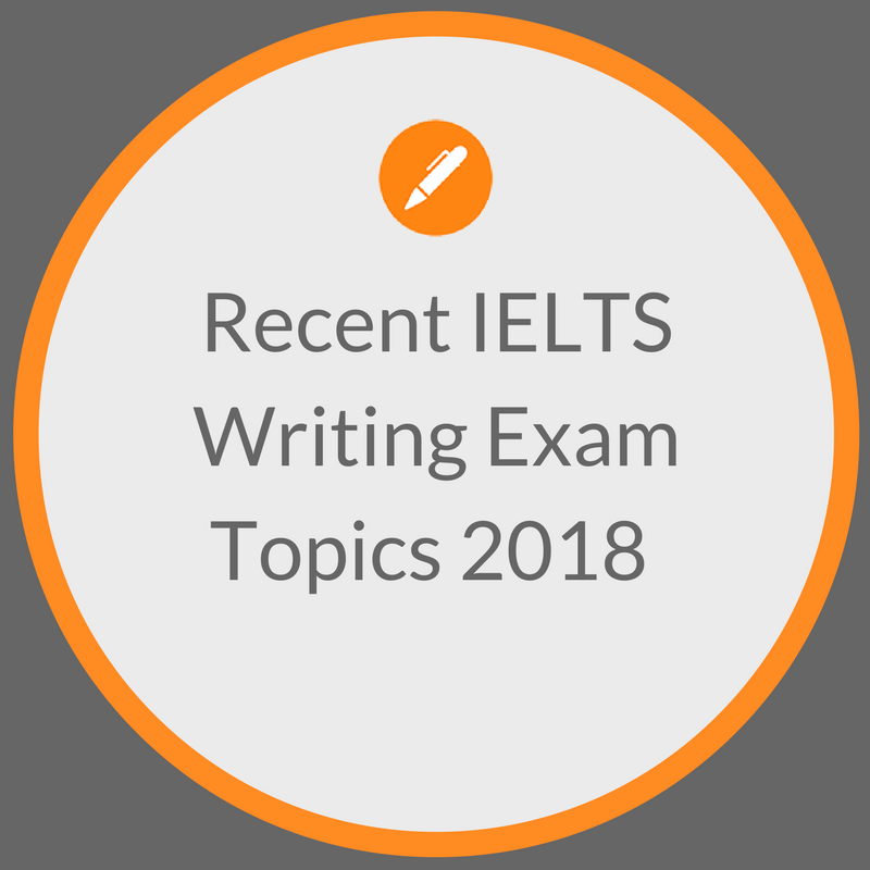 Recent Exam Questions — IELTS ACHIEVE