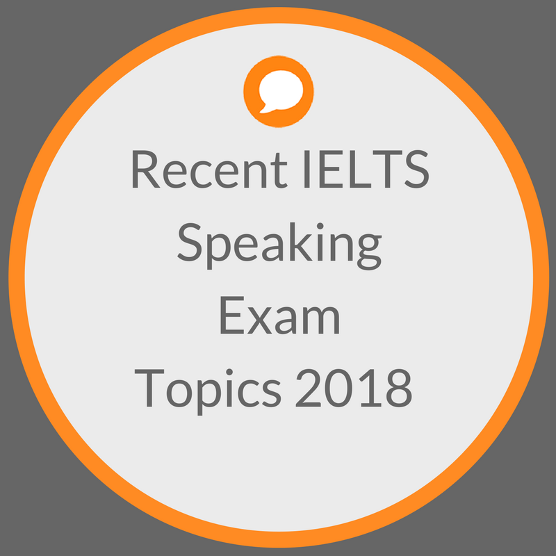 Recent Exam Questions — IELTS ACHIEVE