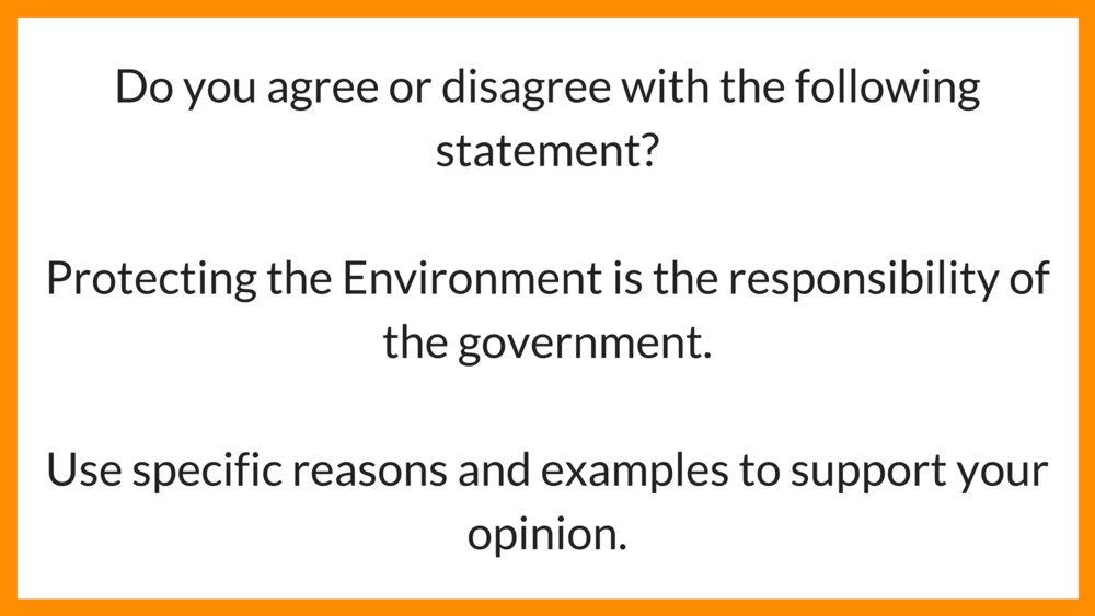 Ielts Agreedisagree Essay Sample   Environment  Ielts Achieve Ielts Writing Task  Question