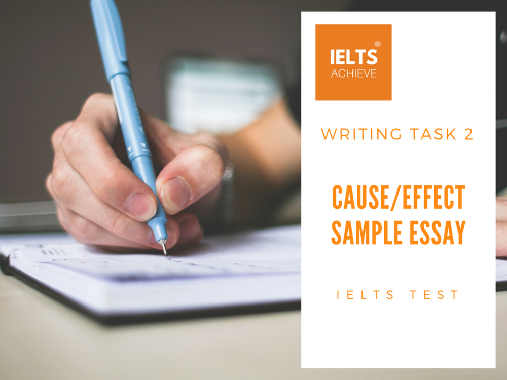 Model Essay English Ielts Cause And Effect Essay Example High School Essay Writing also Essay About Healthy Lifestyle Ielts Causeeffect Essay Sample   Crime  Ielts Achieve Is A Research Paper An Essay