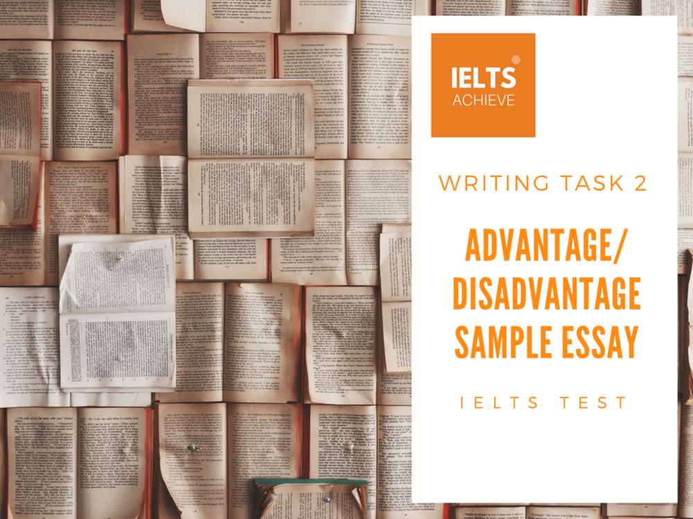 IELTS writing task 2 essays