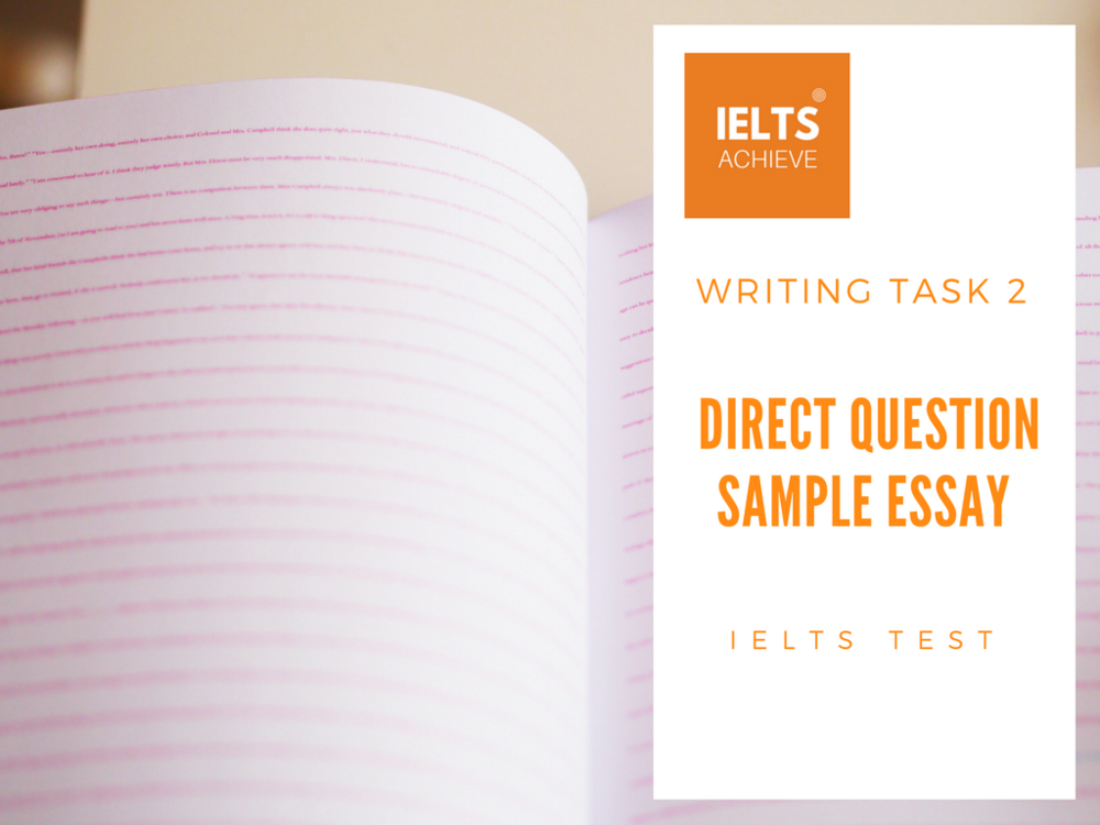 IELTS writing test