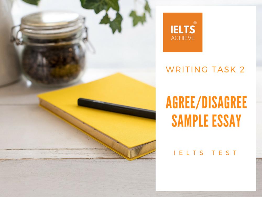 IELTS writing test