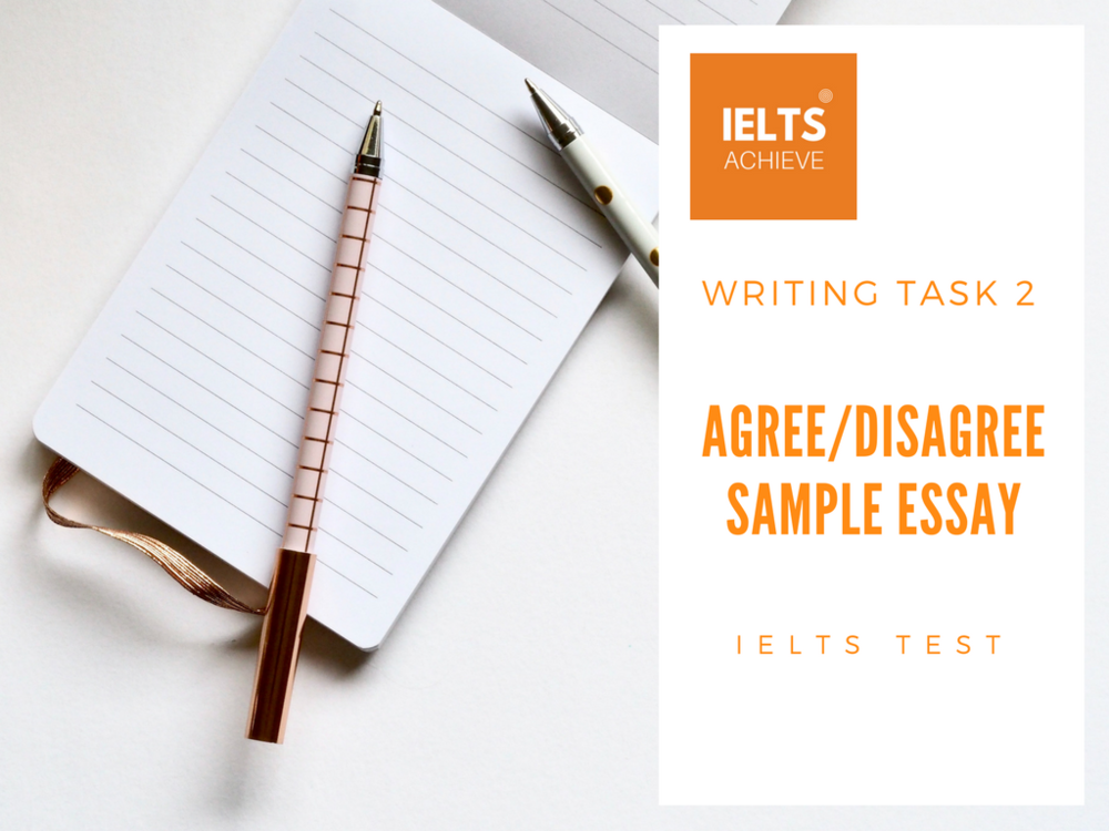 Business Essay Writing Service Ielts Agree Or Disagree Essay Example English Essay Topics For Students also Political Science Essays Ielts Agreedisagree Essay Sample   Crime  Ielts Achieve Essay On Health Awareness