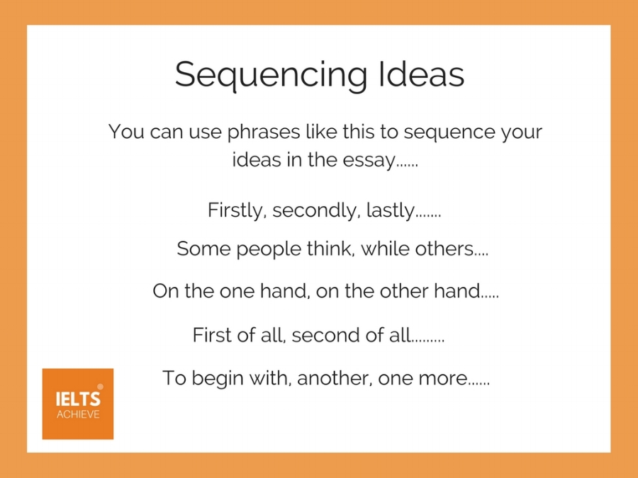 sequencing ideas