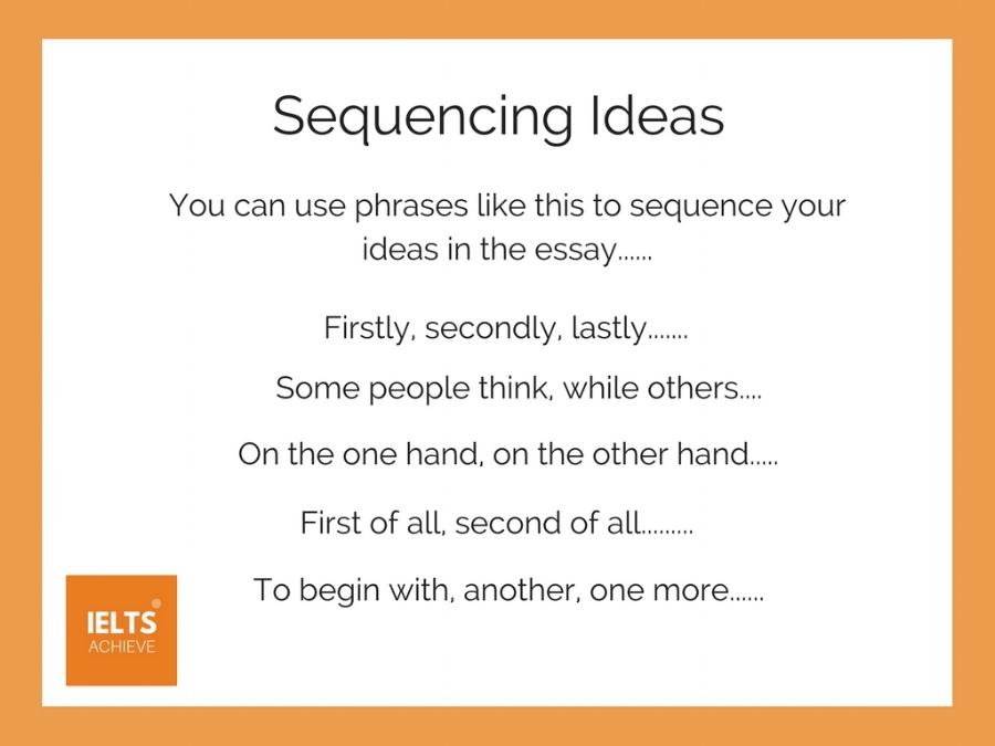 sequencing ideas