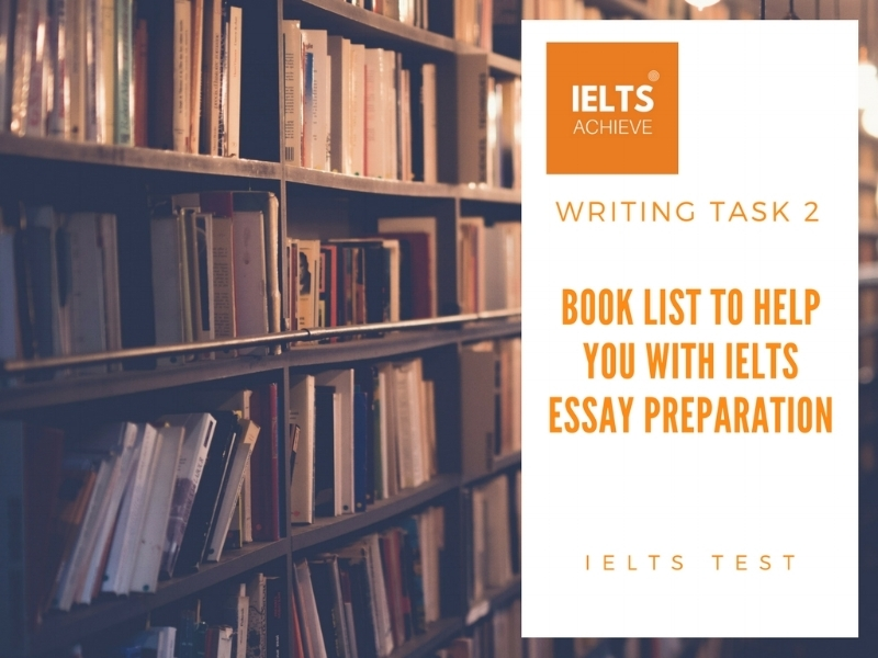 IELTS preparation book list
