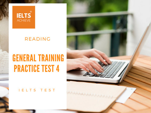 IELTS General Training Reading Practice Test 4 - Section 3